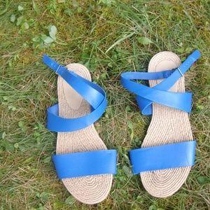 Old Navy Shoes - Cobalt Blue Sandals